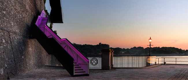 Latest Project Update – G&R LED Illumination of Western King Staircase, Royal William Yard.