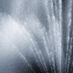 San Sebastian Fountain - Wild Spray