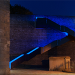 RWY Western King Staircase - Blue LED