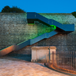 RWY Western King Staircase - Green LED