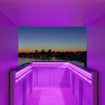 RWY Western King Staircase - Purple LED